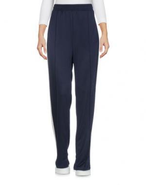 Повседневные брюки GANNI. Цвет: темно-синий