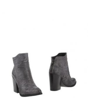 Полусапоги и высокие ботинки JUICE. Цвет: серый