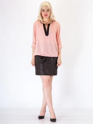 Блузка HELLO MODA!. Цвет: розовый