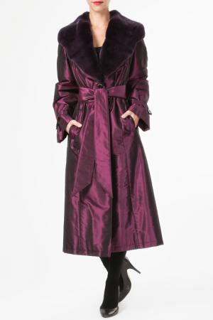 Пальто M. Collection. Цвет: красный