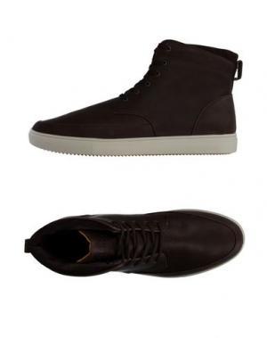 Высокие кеды и кроссовки CLAE. Цвет: темно-коричневый