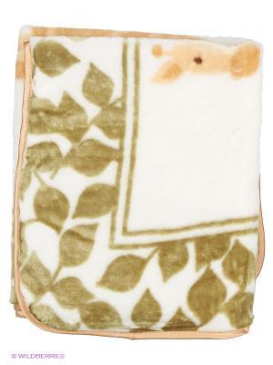 Плед Жираф Luvable Friends. Цвет: зеленый