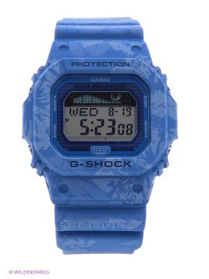 Часы G-Shock GLX-5600F-2E CASIO. Цвет: голубой