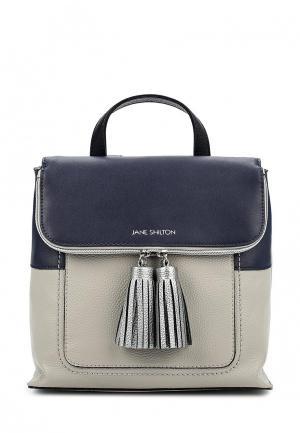 Рюкзак Jane Shilton. Цвет: серый