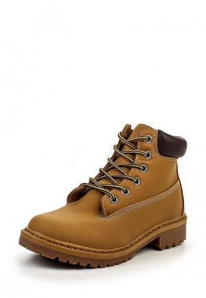 Ботинки Mapleaf. Цвет: горчичный