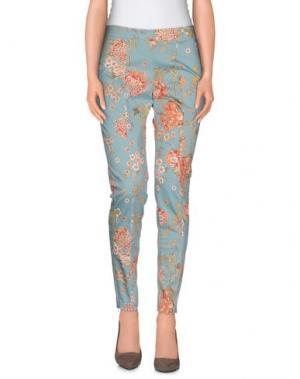 Повседневные брюки KAOS. Цвет: небесно-голубой