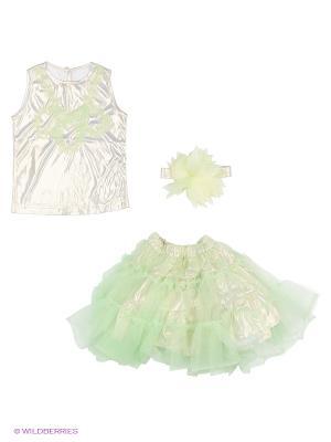 Комплект одежды Милашка Сьюзи. Цвет: зеленый, золотистый