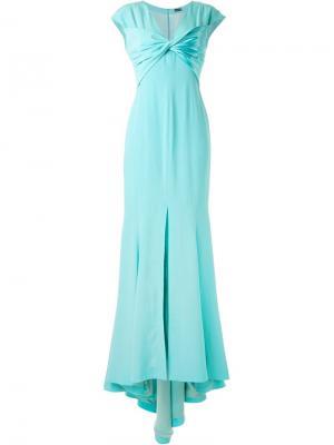 Вечернее платье Alexis Mabille. Цвет: зелёный