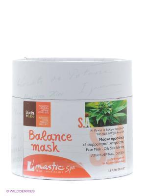 Маска для лица балансирующая жирность кожи Balance mask Mastic Spa. Цвет: оранжевый