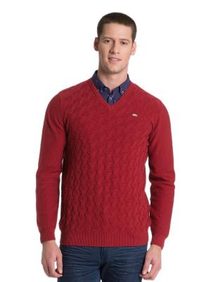 Пуловер U.S. Polo Assn.. Цвет: красный