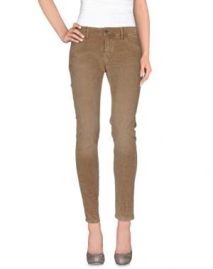 Повседневные брюки NICHOL JUDD. Цвет: хаки