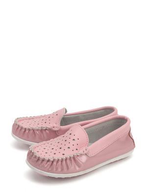Мокасины Tom.M. Цвет: розовый