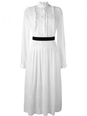 Платье Victoriana Perseverance London. Цвет: белый