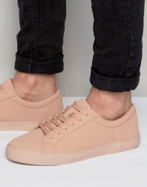 ASOS Розовые кроссовки на шнуровке. Цвет: розовый