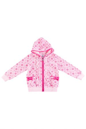 Толстовка Bodi Bear. Цвет: розовый