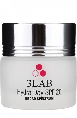 Дневное увлажняющее средство для лица с SPF20, всех типов кожи 3LAB. Цвет: бесцветный