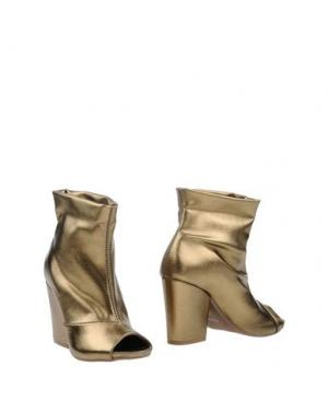 Полусапоги и высокие ботинки CHIARINI BOLOGNA. Цвет: бронзовый