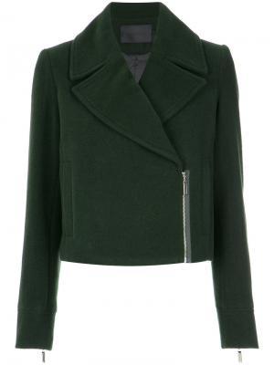 Wool jacket Giuliana Romanno. Цвет: зелёный