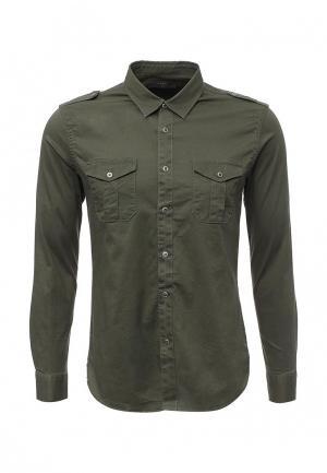 Рубашка Y.Two. Цвет: хаки