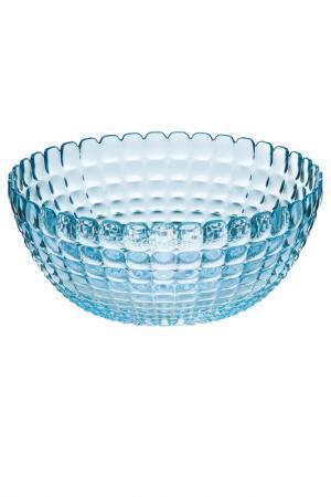 Салатница Tiffany XL GUZZINI. Цвет: голубой