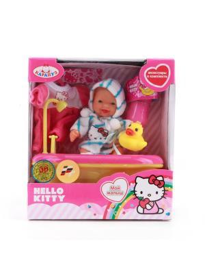 Пупс Карапуз Hello Kitty. Цвет: белый, голубой, розовый