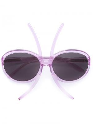 Солнцезащитные очки Paola Pivi x LizWorks Selima Optique. Цвет: розовый и фиолетовый