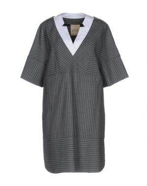 Короткое платье GARAGE NOUVEAU. Цвет: светло-серый