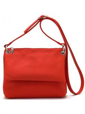 Сумка Solo true bags. Цвет: темно-красный