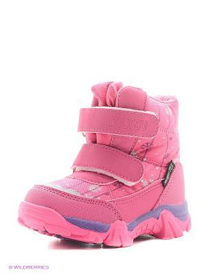 Ботинки Mursu. Цвет: фуксия