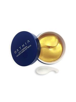 Гидрогелевые патчи для области вокруг глаз с EGF и частицами золота Orthia. Цвет: золотистый