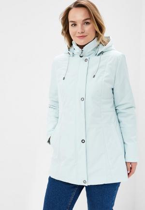 Куртка утепленная Maritta. Цвет: бирюзовый