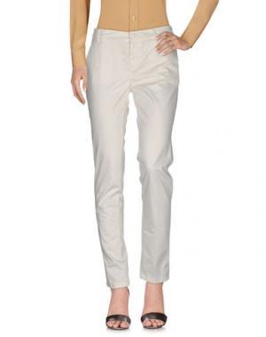 Повседневные брюки ROMANO RIDOLFI. Цвет: белый