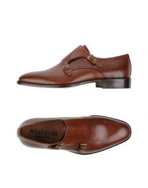 Мокасины MALDINI. Цвет: коричневый