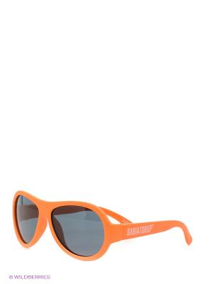 Солнцезащитные очки Babiators. Цвет: оранжевый