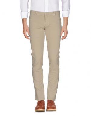 Повседневные брюки CIRCOLO 1901. Цвет: бежевый