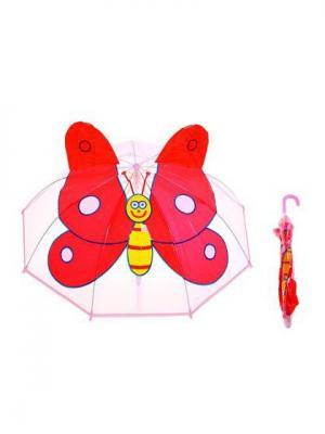 Зонт NeKi. Цвет: светло-коралловый