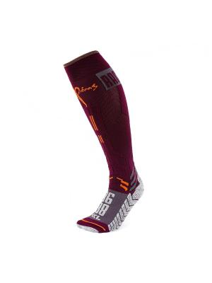 Носки Pim's. Цвет: бордовый