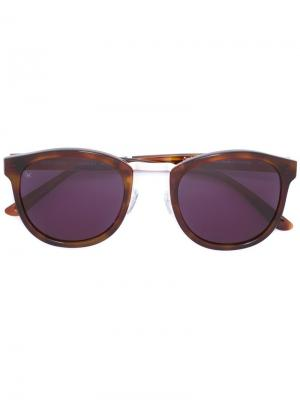Солнцезащитные очки Crossroad Smoke X Mirrors. Цвет: коричневый