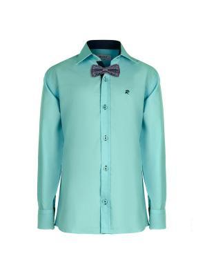 Рубашка ROMA design. Цвет: светло-зеленый