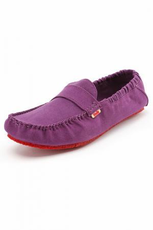 Мокасины MOCKS. Цвет: фиолетовый