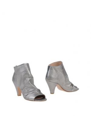 Полусапоги и высокие ботинки JEREMY-HO. Цвет: серебристый