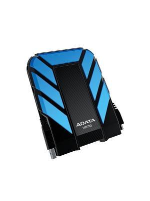 Жесткий диск A-Data USB 3.0 1Tb HD710 DashDrive Durable (5400 об/мин) 2.5 синий. Цвет: синий