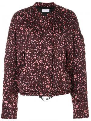 Куртка Jady Christian Wijnants. Цвет: розовый и фиолетовый