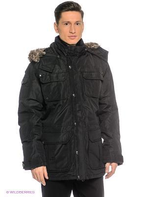 Куртка Northland Professional. Цвет: черный