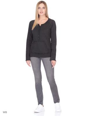 Пуловер lawiggi. Цвет: черный