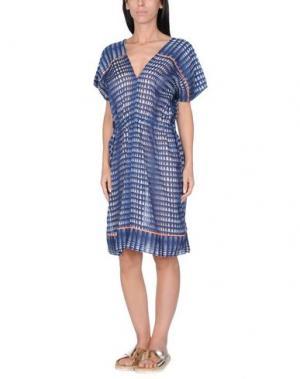 Пляжное платье LEMLEM. Цвет: темно-синий