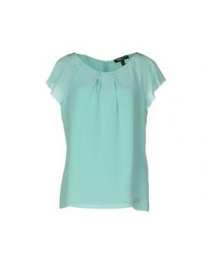 Блузка CHIARA D'ESTE. Цвет: светло-зеленый