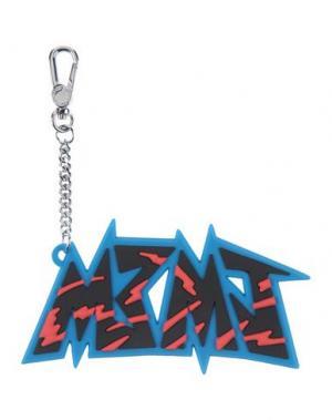 Брелок для ключей MARC BY JACOBS. Цвет: лазурный