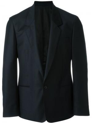 Однобортный пиджак E. Tautz. Цвет: синий
