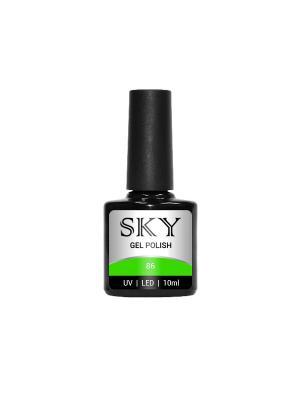 Гель-лак SKY 10 мл №86. Цвет: салатовый